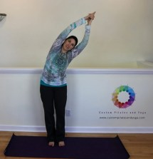 Standing Side Bend Spinal Health - Custom Pilates