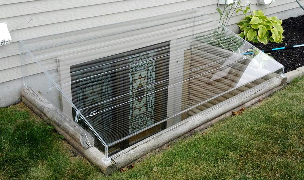 Acrylic Egress Window Well Covers