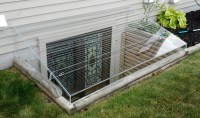 Acrylic Egress Window Well Covers