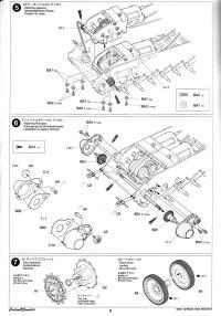 Tamiya's 1/25 R/C Panther manual pages