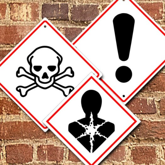 Globally Harmonized System (GHS) Symbol Safety Signs