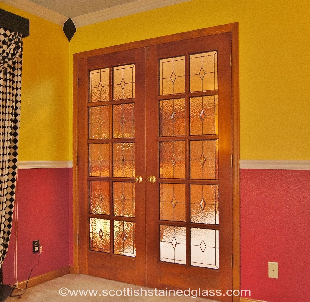 Entryway Stained Glass Doors
