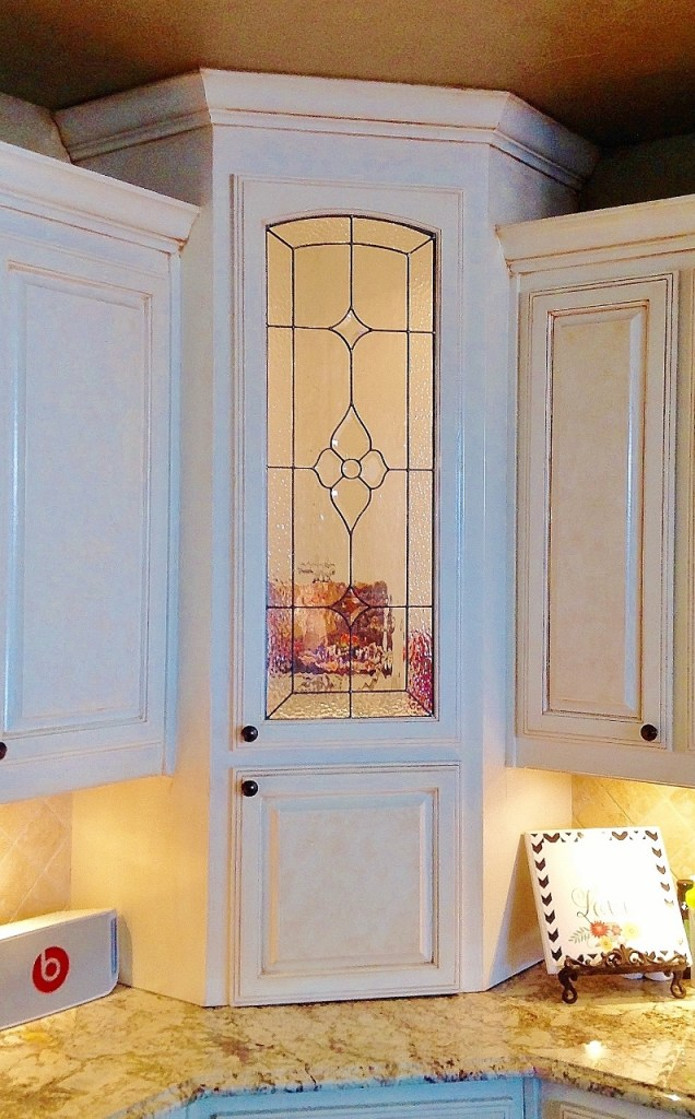 Kitchen Stained Glass pantry
