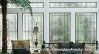 Transom Stained Glass Windows | Custom Stained Glass Houston