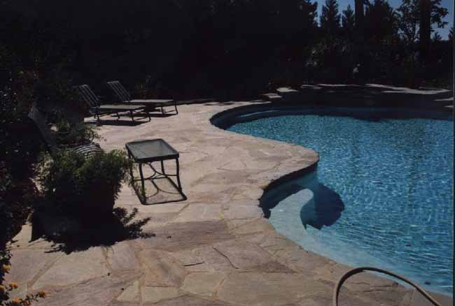 Gray River Rock Landscaping