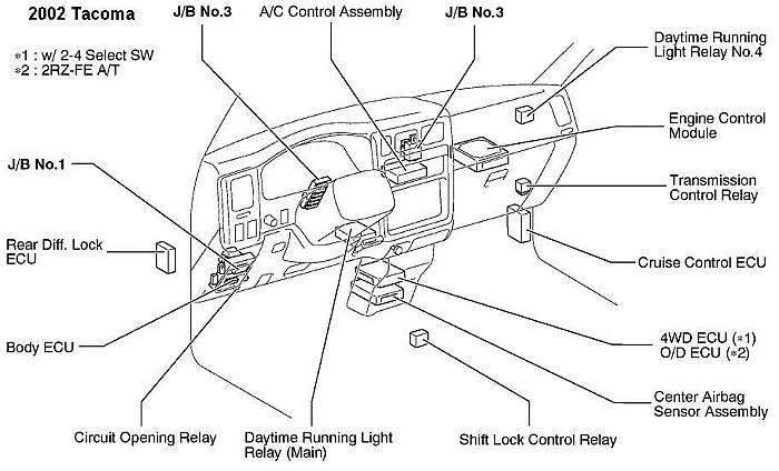 Daytime Running Light Wiring Diagram Database
