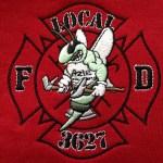 Azle Buzzy Fire Fighters Logo Station 3627