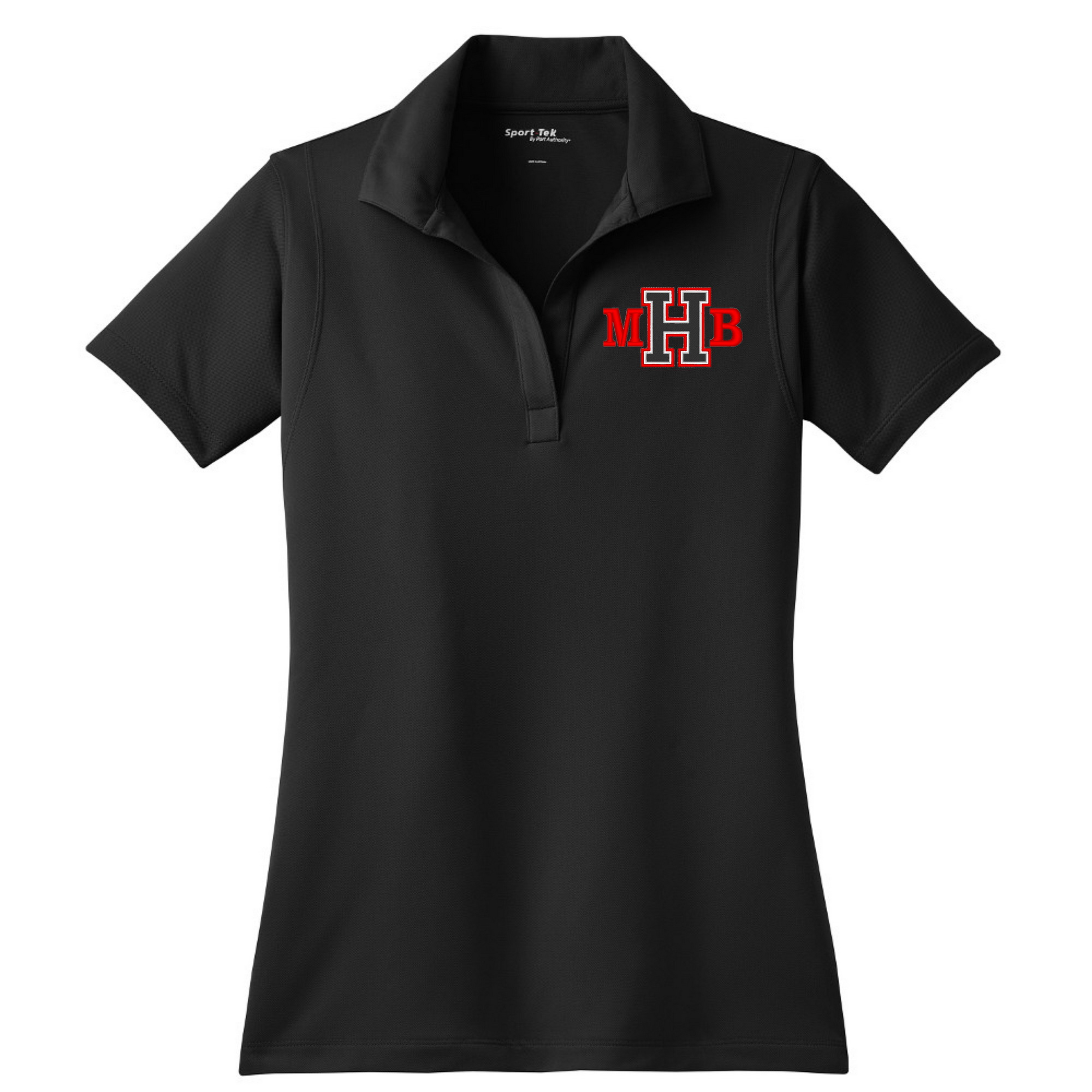 Ladies Polo with MHB embroidered LC