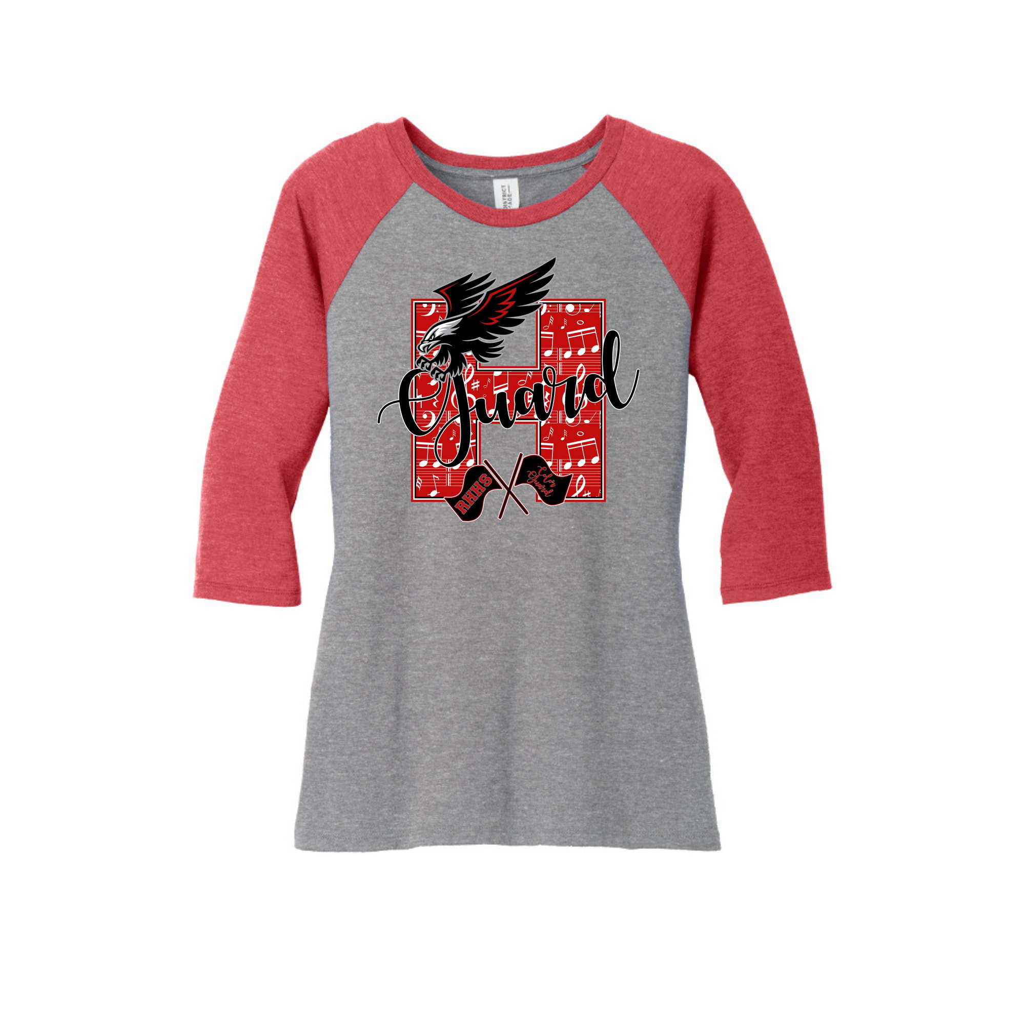 Ladies raglan shirt
