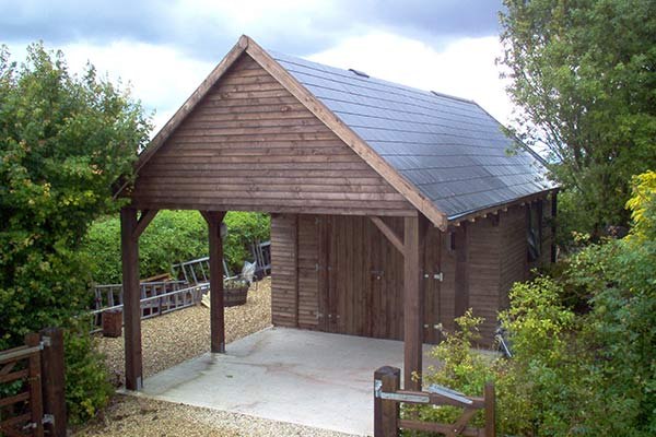 Prefabricated Timber Garage Building Manufacturer In Uk