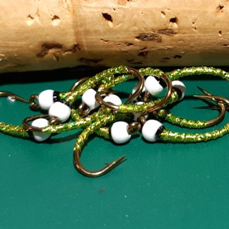 Kalamata (olive) Chironomid Pupa Fly Pattern