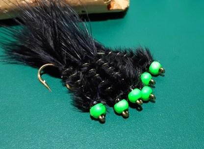 M&M Black & Chartreuse Leech