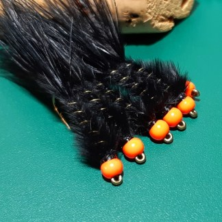 M&M Black & Hot Orange Leech
