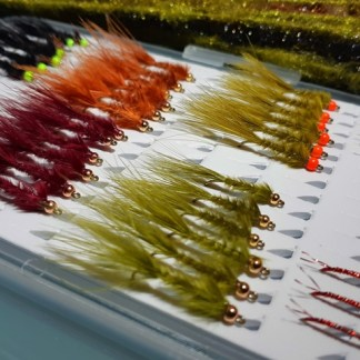 M&M Leeches 36 + Flashy Bloodworms 12 - 48 Pack