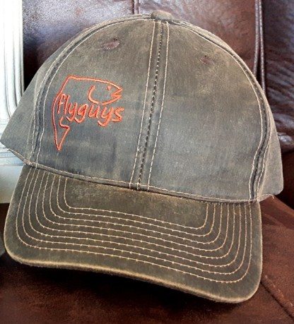Oil Skin Fishing Hat - Brown