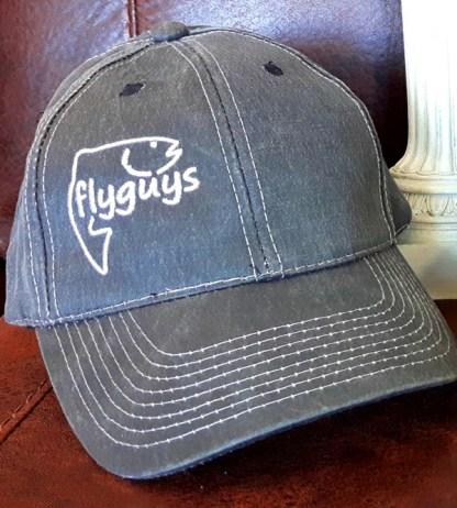 Oil Skin Fishing Hat - Black