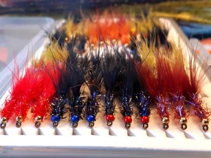 UV Straggle (Vampire) Leech Fly Pack 24