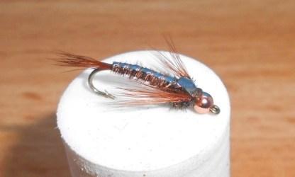 MaySB Pheasant Tail ASB Mayfly Nymph - Copper