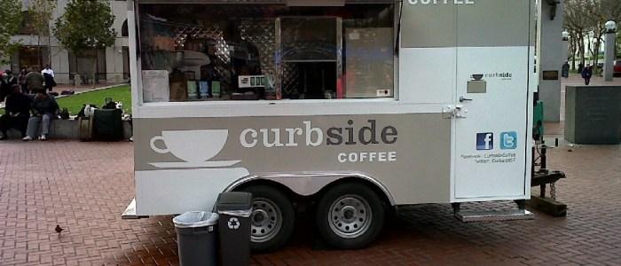 Curbside Coffee – Kiosk Graphic Wrap
