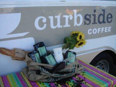 Curbside Coffee - Kiosk Wrap