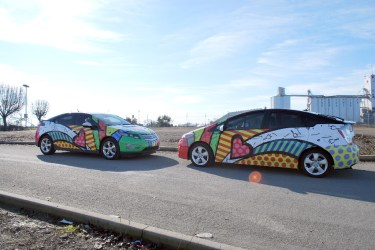 Chevy Volt Car Wraps