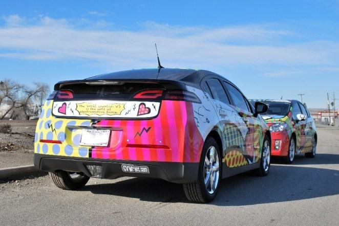 Chevy Volt Car Wrap