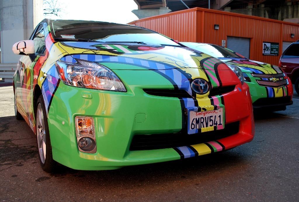 Chevy Volt Car Wraps Custom Vehicle Wraps