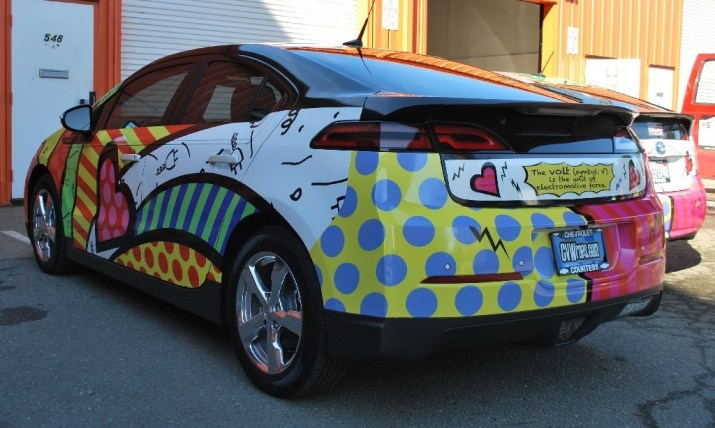 Chevy Volt Car Wrap