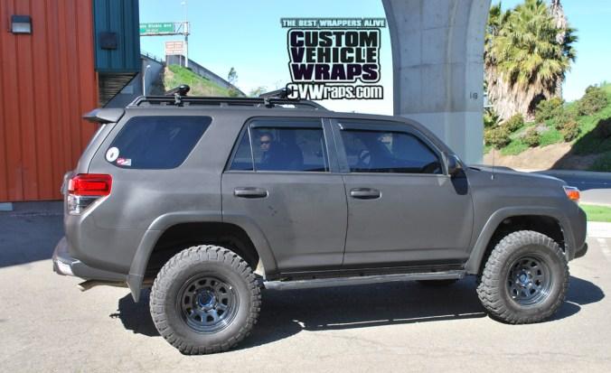 Matte Black Wrap - Toyota 4runner