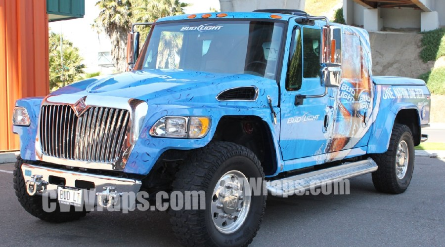 Bud Light Promotional Truck – CVWrapped