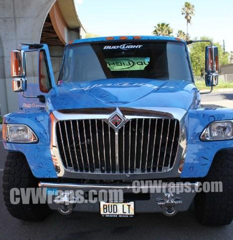 Bud Light Truck Wrap