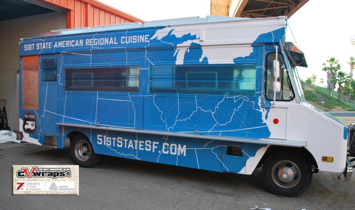 51st State SF Food Truck Wrap