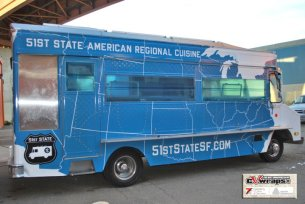 51st STate - Food Truck Wrap