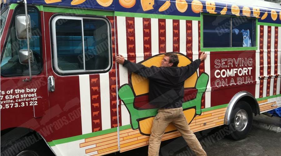 Doc's of the Bay Food Truck Wrap