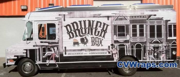 Brunch Box – San Francisco Food Truck Wrap