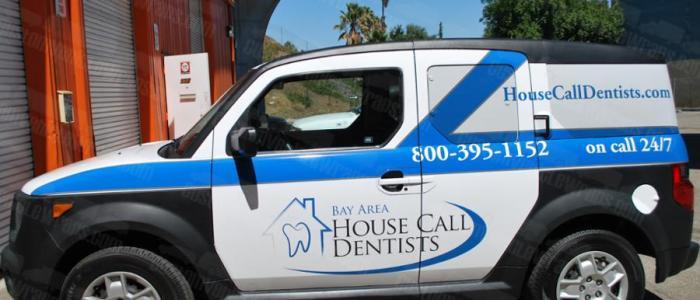 Car Wrap for San Francisco Housecall Dentists