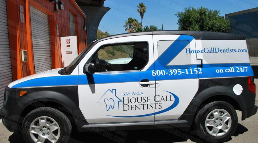 Car Wrap for San Francisco Housecall Dentists