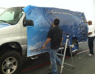 Shuttle Van - Driver Side