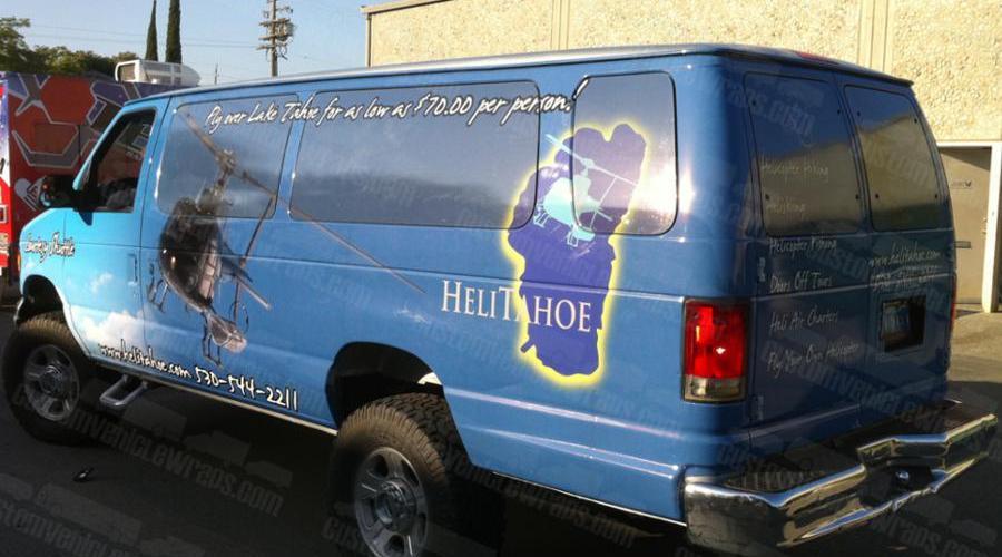 Shuttle Wrap for HeliTahoe
