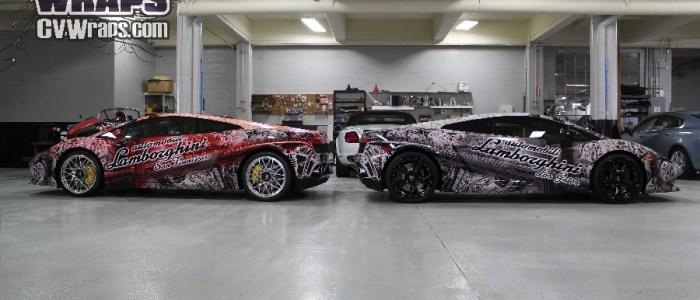 Lamborghini Wraps – VIP presentation at Concorso Italiano