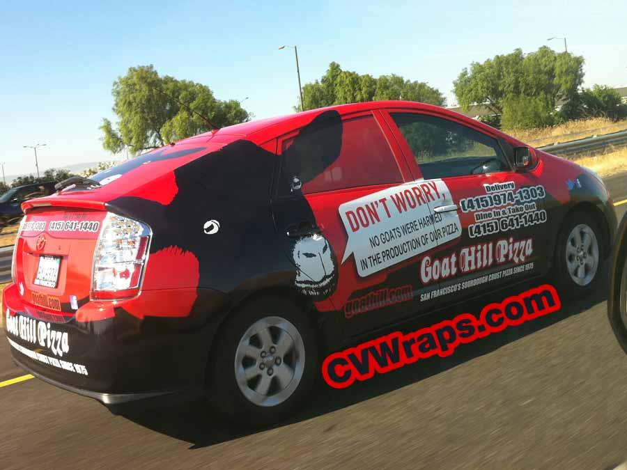 Custom Vehicle Wraps Goathill Pizza Custom Vehicle Wraps