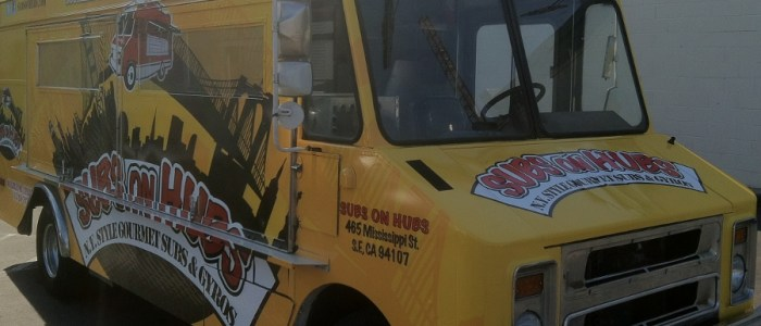 Subs on Hubs Food Truck Wrap