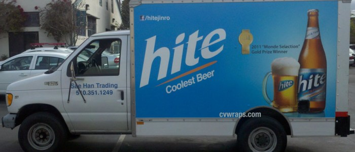 Truck Wrap for Hite Beer