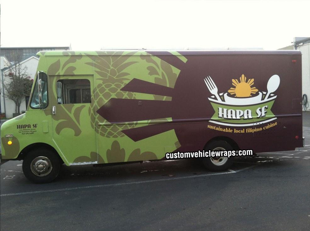 HAPA SF Food Truck Wrap