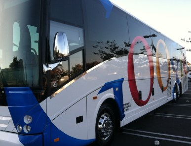 Google Bus Wrap