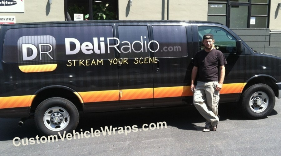 Deli Radio Van Wrap