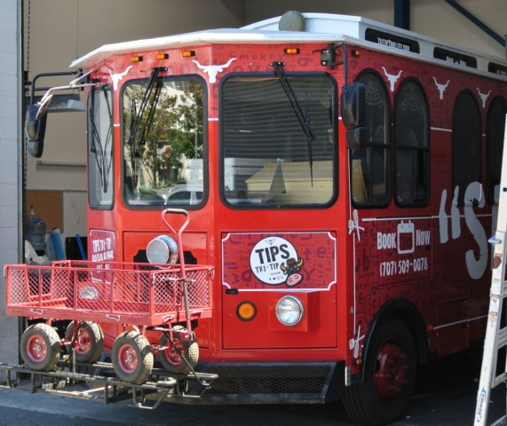 Tri Tip Trolley Wrap Front