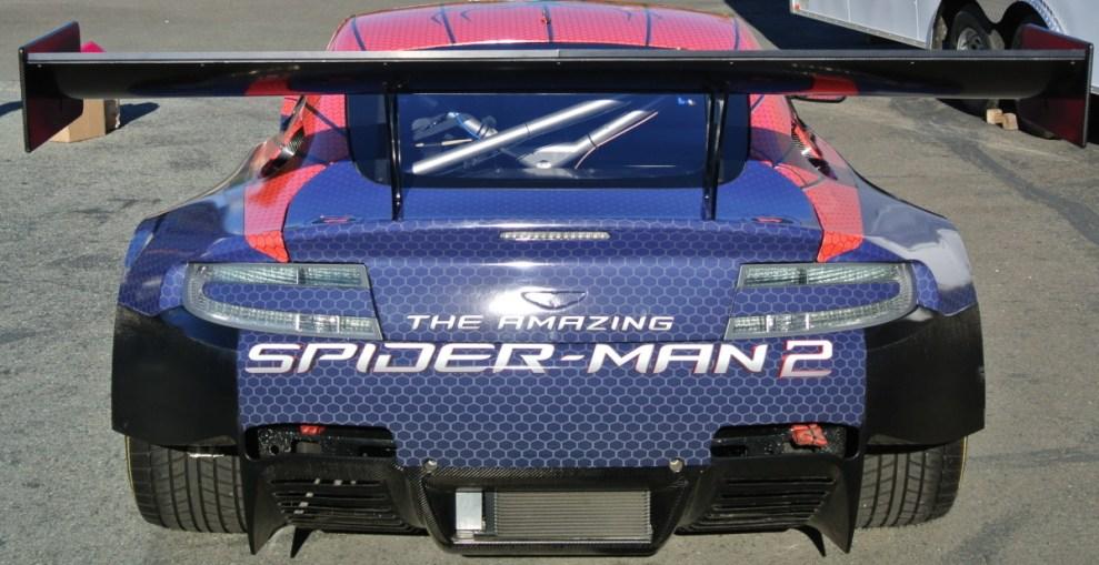 Spiderman Car Wrap Back
