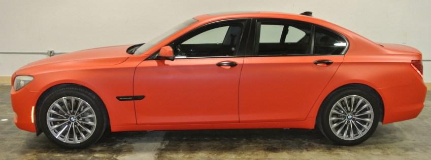 Orange BMW Profile Left 2