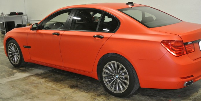 Orange BMW Profile Left 4